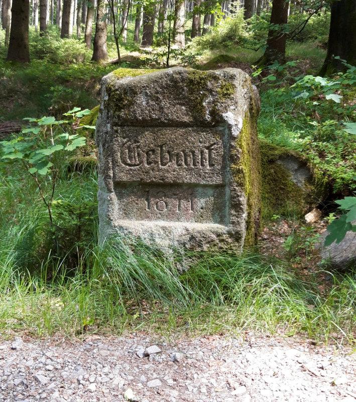 Denksteine-Tour Wegebaustein Stufenweg